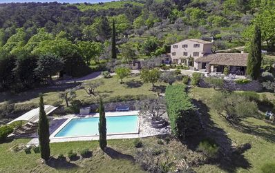 Photo for Beautiful Villa With Private Pool, Big Lovely (Olive) Garden and Stunning Views!