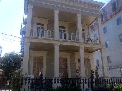 Photo for Luxury 2bed/2bath, 1 block off St. Charles Ave.take streetcar to French Quarter