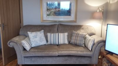 Laura Ashley sofas and tables