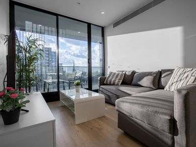 Photo for Brand New APT with Sea Views in Heart of St Kilda