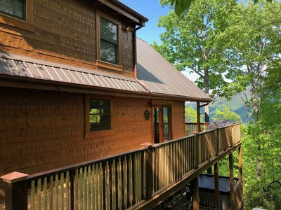 Photo for Recently Renovated Cabin Two Miles from the Great Smoky Mountain National Park!