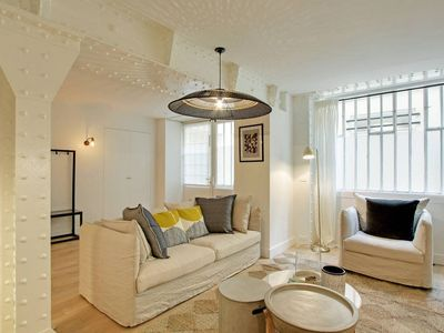 Photo for Trendy 120sqm 2-BDR in Louvre apt 2