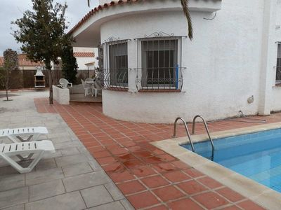Photo for CASA GAVINA,Ideal house for your holidays near the sea, free wifi, air conditioning, private pool, pets allowed, dog's beach.