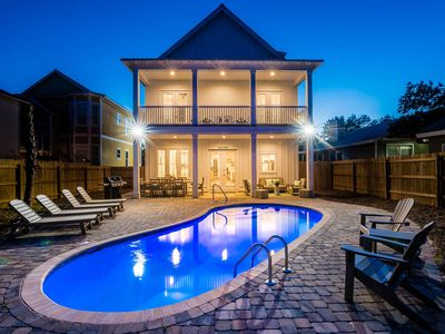 Photo for Beautiful, Brand New Home in Destin! Private Heated Pool! Walk to the Beach!