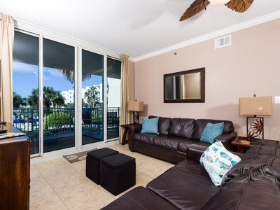 Photo for Waterscape C301: Magnificent condo~LAZY RIVER~BCH SVC~HOT TUB~KID FRIENDLY!