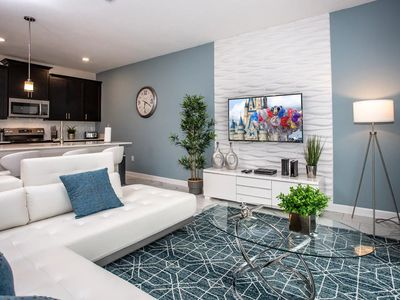 Photo for *SANITIZED* Storey Lake Awesome Townhome 4 bedrooms Private Pool Disney Area