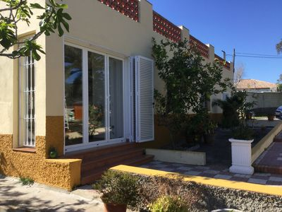 Photo for Renovated family country villa near beaches, WiFi, large quiet gardens and pool