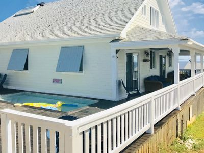 Photo for Sweet Merlot - A Family Rental with a Pool & walking distance to Twin beach
