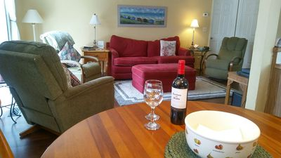 Photo for Tranquil 3 bd/2 ba Townhome with pool, tennis, ~175 yards to beach access #24.