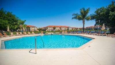 Photo for Beautiful pool great location, gated and quiet,  minutes from downtown and beach