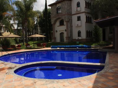 Photo for San Miguel de Allende Spacious Luxury Apartment Near Centro (Capitolio)
