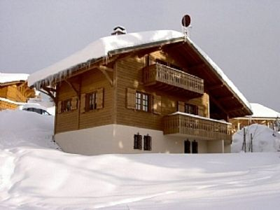 Photo for Family Chalet late booking available ski in and out
