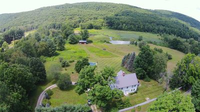 Photo for Historic Estate on 40 Private Acres with Pool, Pond & Views!