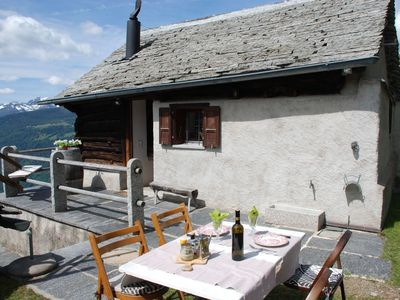 Photo for 1BR Apartment Vacation Rental in Chiavasco, Ticino