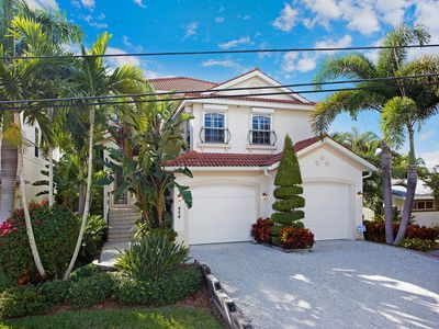 Photo for Exquisite Key West style home ideally located steps away from Siesta Key Beach