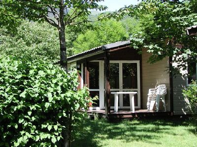 Photo for Camping Le Pas de l'Ours *** - Chalet Détente 3 Rooms 4 People