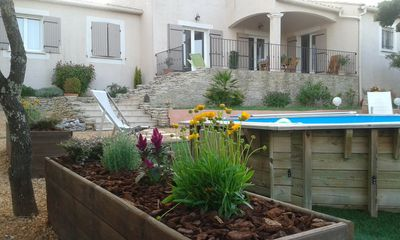 Photo for Rental villa 150 m² Uzès Pont du Gard with swimming pool