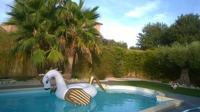 Photo for New: GRAU D'AGDE 34, villa 5mn with foot of the beach 6 people in peace