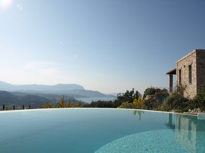 Photo for Villa Ikaros: Modern Villa With Private Pool And Spectacular Views