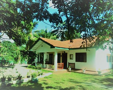 Photo for Feel home at eco lodge among lush green woods with ayurvedic therapy