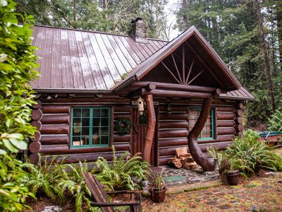 new mount cabins vacation hood rhododendron rentals tub mt rental pin hot photo cabin