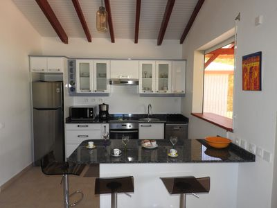 Photo for Kreyol Eden Cottage, new one-bedroom apartment located in a peaceful green setting near the sea