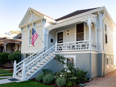 Photo for Beautiful remodeled historic home - short walk to downtown - sleeps 6