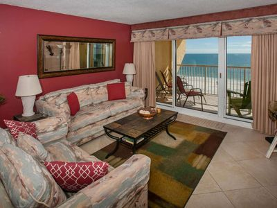 5th Floor Gulf-Front  | Outdoor pool, BBQ grill, Wifi | Free golf, fishing, dolphin cruise & OWA tix