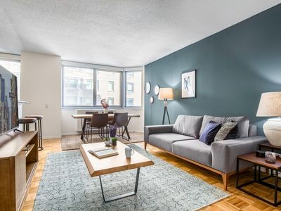 Photo for Sweet Midtown East 1BR, Water views, Gym, Doorman by Blueground