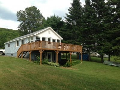 Photo for Portage Lake ME. Waterfront Home For Rent In Recreational Mecca
