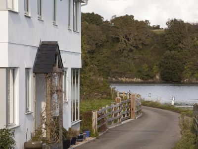 Photo for Beautiful modern  house on banks of River Lynher offering absolute tranquility