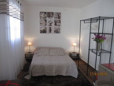 Photo for Charming studio, 30m from the sea, in property