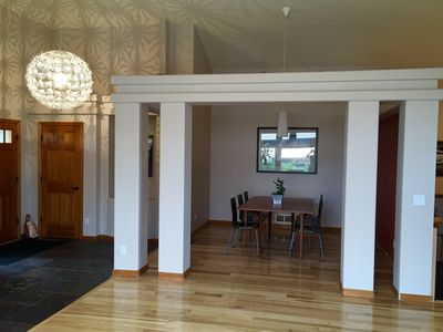 Formal Dining Room Near Entry Way