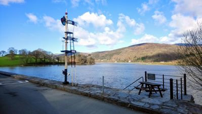 Photo for Static Caravan by River on Farm Snowdonia Sleeps 6