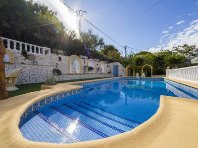 Photo for Costa Blanca. Villa Panoramic View. Private Pool.