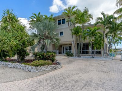 Photo for Sombrero Beach Beauty, a 5 bedroom pool home with dock and Sombrero Beach nearby