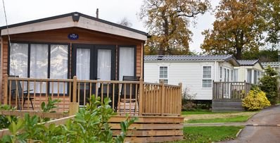 Photo for 3 Bedroom Deluxe Lodge at Norfolk Park
