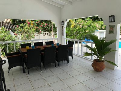 Villa in tropical surroundings with private pool in Jan Thiel