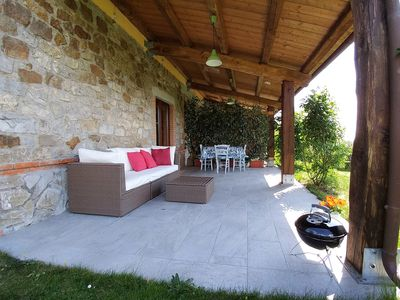 Photo for Relaxing Tuscan holiday home with great views and lovely sunsets