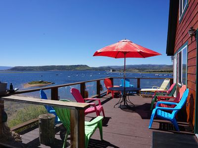 Photo for LAKEFRONT Lake Granby Spectacular Views