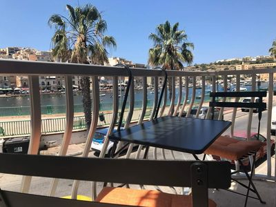 Photo for MALTA Marsaskala sea front one bedroom apartment.