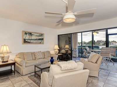 Photo for Bayside Water View 110 1st fl intercoastal view, free wi-fi, central ac, beach access.