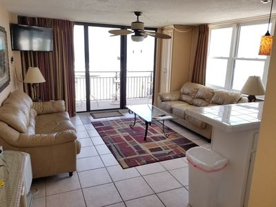 Photo for Unit 202 - Beachfront 1 King Bedroom 1 Bath - Sleeps 6