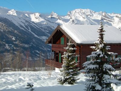 Photo for Vacation home Chalet L'Yret (TZM156) in La Tzoumaz - 10 persons, 5 bedrooms