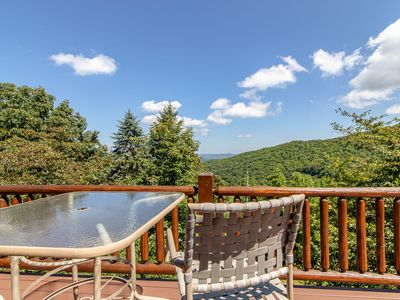 Photo for 3BR Mountain Home with Long Range Views, Close to Attractions