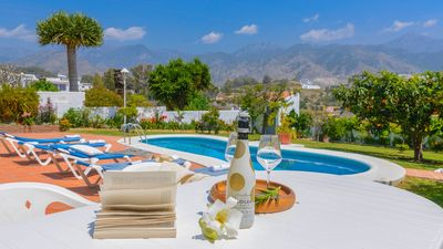 Photo for Spectacular villa near the beach, with views of Nerja