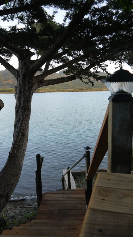 River Front Accomodation with views of the Russian River Valley & Pacific Ocean