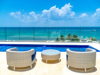 Photo for Elegant Mamitas Beach Condo at Cruz Con Mar