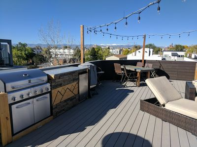 Photo for Gorgeous New Home Near Lake, Stadium and Downtown w/Private Rooftop Deck