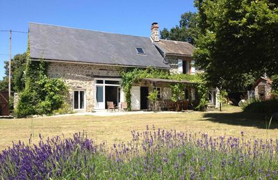 Photo for 3BR Farmhouse Vacation Rental in Rougnat, Nouvelle-Aquitaine